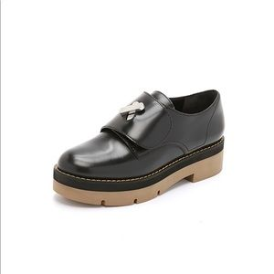Alexander Wang Dillon Platform Oxfords Black 38.5